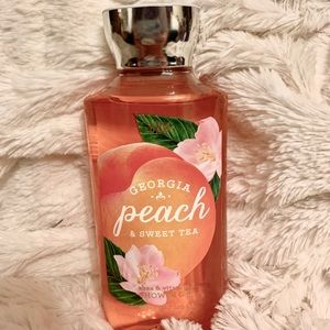 BBW Peach Body Wash
